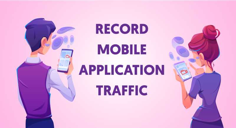 JMeter - How to record Mobile Application traffic?